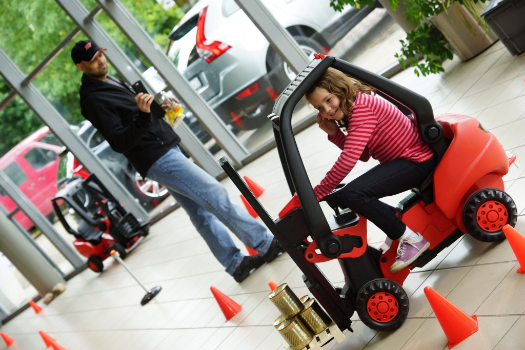 Eventmodul Kinder-Staplerfahrer Führerschein
