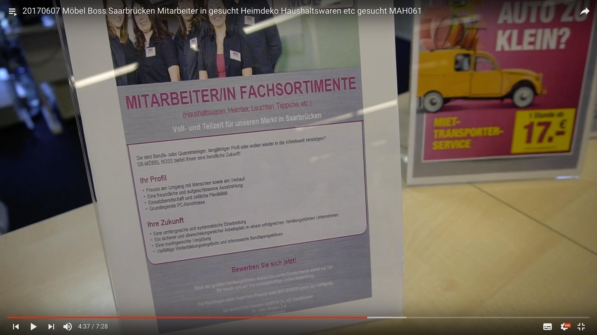 20170607 Möbel Boss Saarbrücken Mitarbeiter In Gesucht Heimdeko
