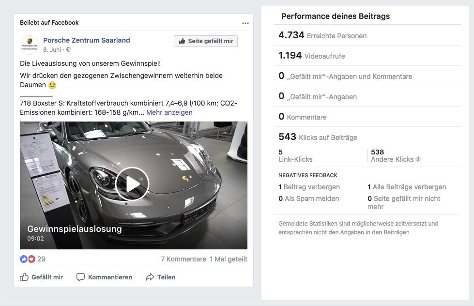 Verlosung Porsche Zentrum Saarland Performance_MSM_MEDIEN_SAAR_MOSEL_SAARLAND_FERNSEHEN_1_ED_SAAR