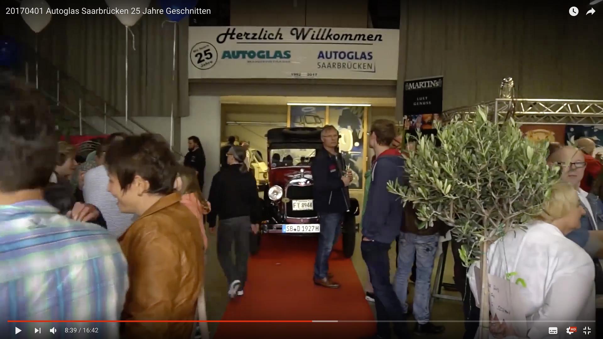 2017 Autoglas Saarbrücken 25 Jahre Event_MSM_MEDIEN_SAAR_MOSEL_SAARLAND_FERNSEHEN_1_ED_SAAR