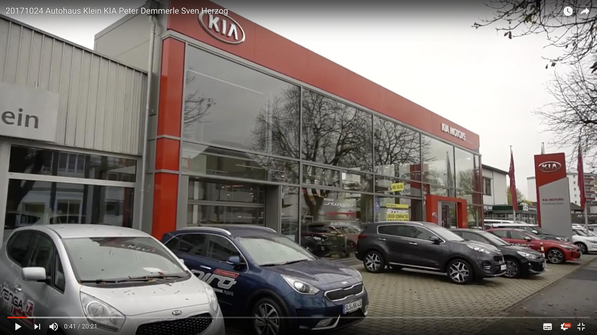 2017 Autohaus Klein KIA Außen _MSM_MEDIEN_SAAR_MOSEL_SAARLAND_FERNSEHEN_1_ED_SAAR