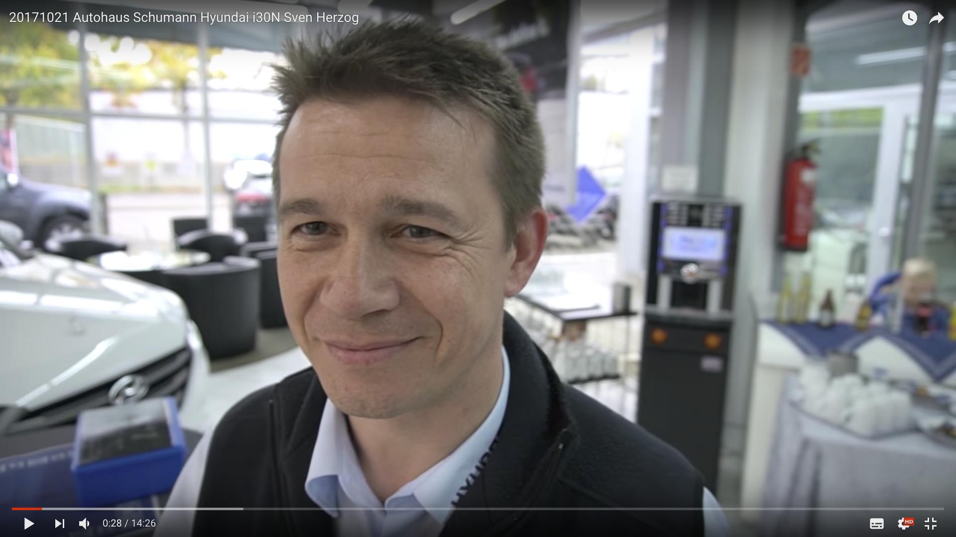 2017 Autohaus Schumann Hyundai i30N Thomas JakobsKüche_MSM_MEDIEN_SAAR_MOSEL_SAARLAND_FERNSEHEN_1_ED_SAAR