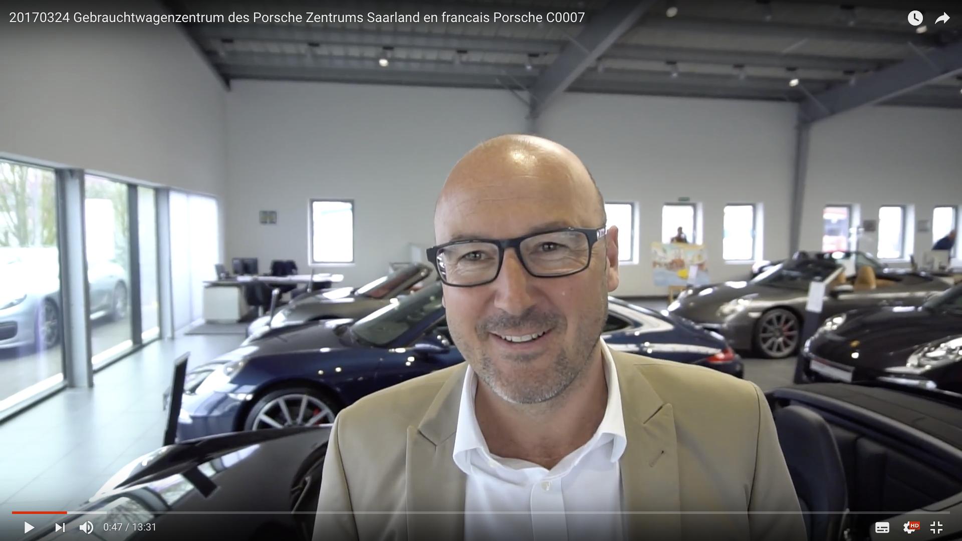 2017 Gebrauchtwagenzentrum des Porsche Zentrums Saarland Alexander Lang _MSM_MEDIEN_SAAR_MOSEL_SAARLAND_FERNSEHEN_1_ED_SAAR