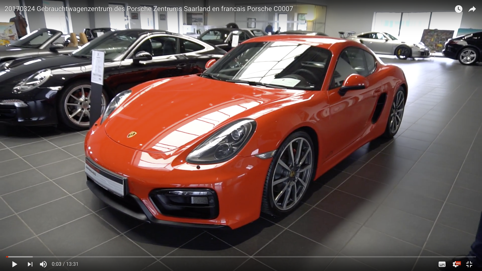2017 Gebrauchtwagenzentrum des Porsche Zentrums Saarland Gebrauchtwagen 2 vorne _MSM_MEDIEN_SAAR_MOSEL_SAARLAND_FERNSEHEN_1_ED_SAAR