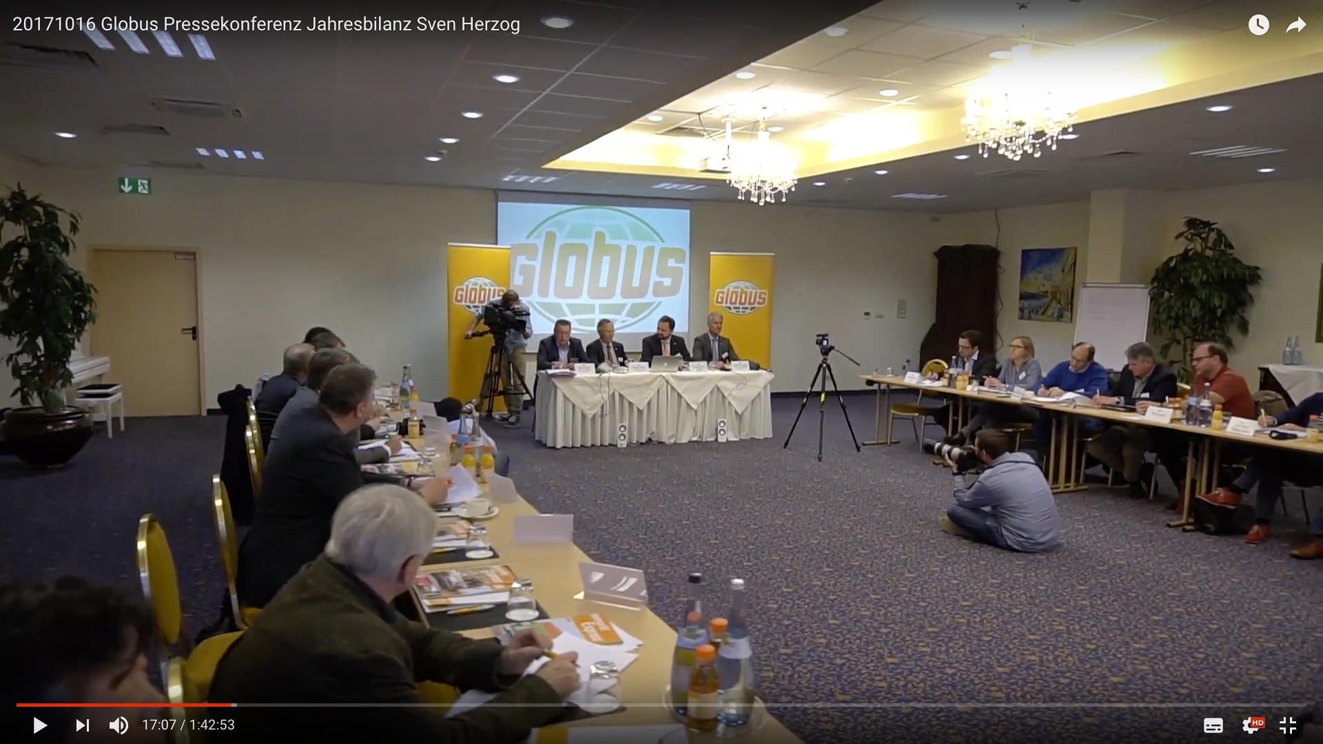 2017 Globus Pressekonferenz Jahresbilanz Konferent_MSM_MEDIEN_SAAR_MOSEL_SAARLAND_FERNSEHEN_1_ED_SAAR