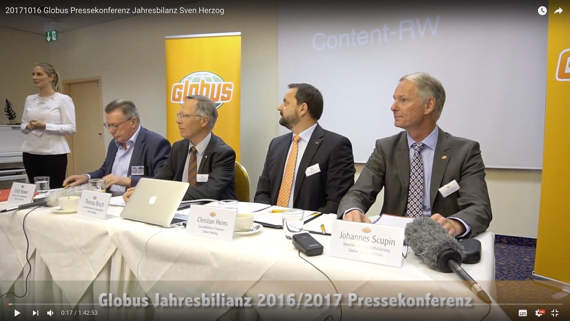 2017 Globus Pressekonferenz Jahresbilanz Sprecher_MSM_MEDIEN_SAAR_MOSEL_SAARLAND_FERNSEHEN_1_ED_SAAR