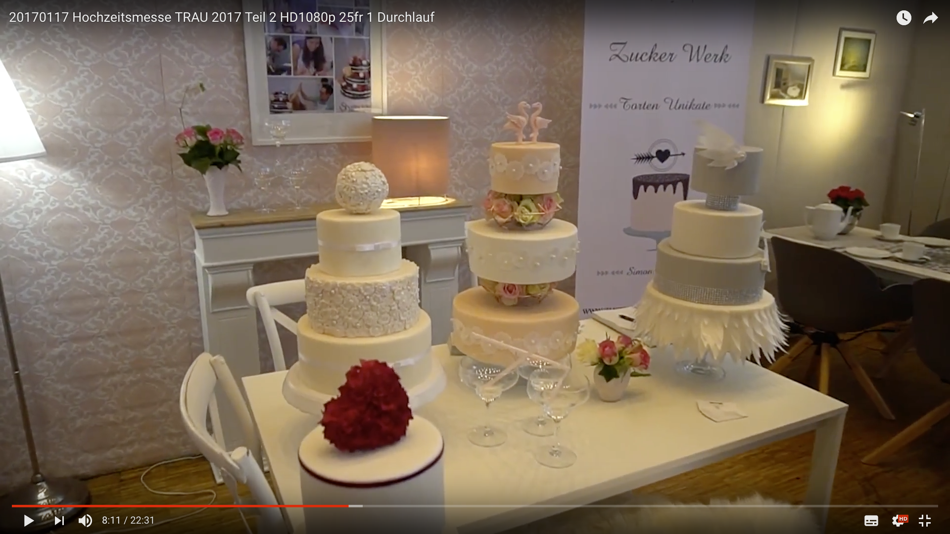 2017 Hochzeitsmesse TRAU Torten_MSM_MEDIEN_SAAR_MOSEL_SAARLAND_FERNSEHEN_1_ED_SAAR