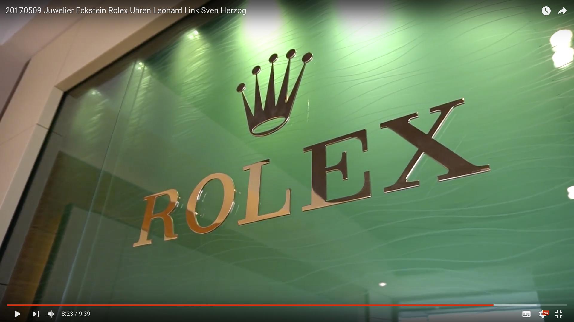 2017 Juwelier Eckstein Rolex Uhren Rolex Logo_MSM_MEDIEN_SAAR_MOSEL_SAARLAND_FERNSEHEN_1_ED_SAAR