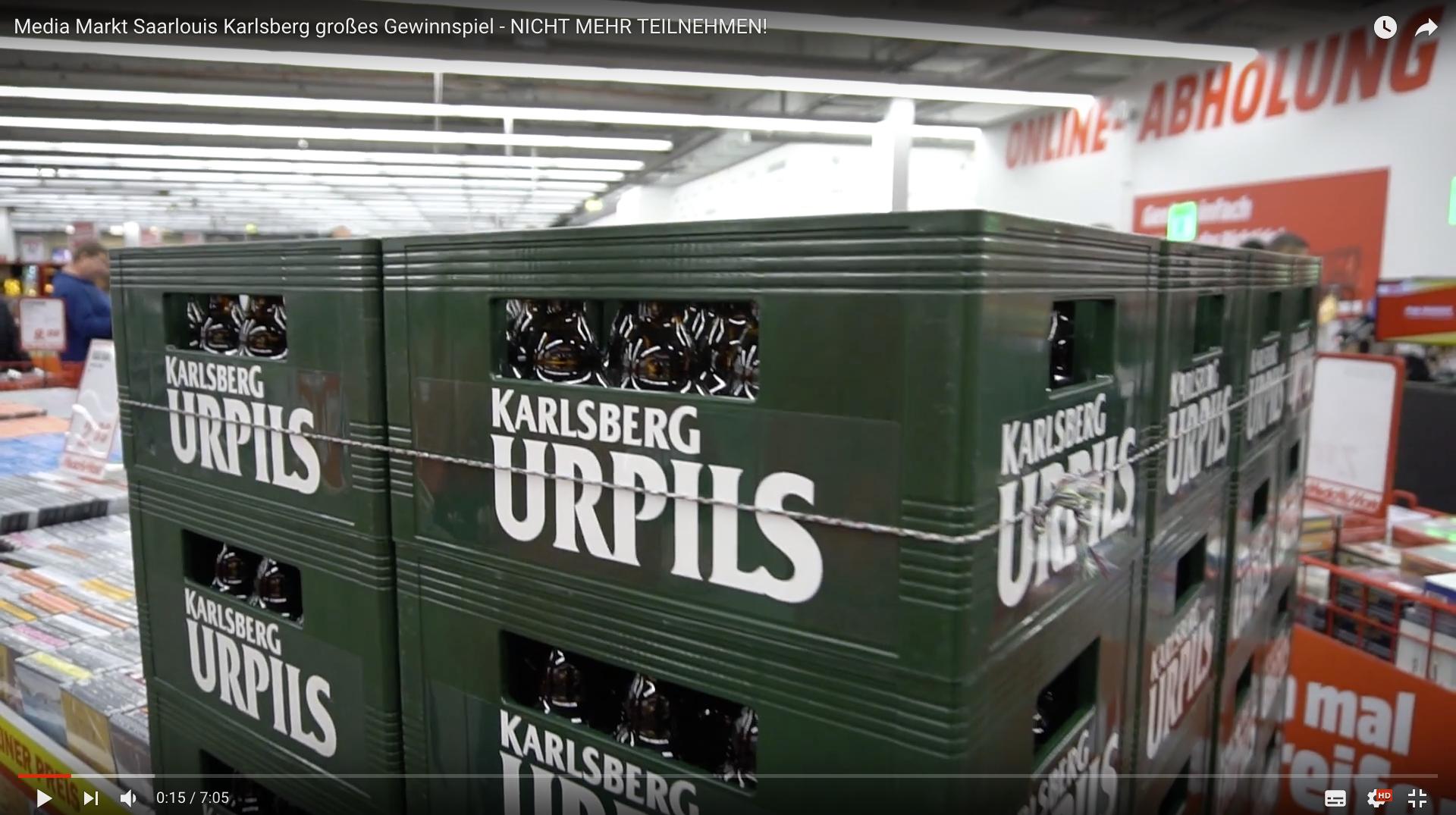 2017 Media Markt Saarlouis Karlsberg großes Gewinnspiel Karlsberg _MSM_MEDIEN_SAAR_MOSEL_SAARLAND_FERNSEHEN_1_ED_SAAR