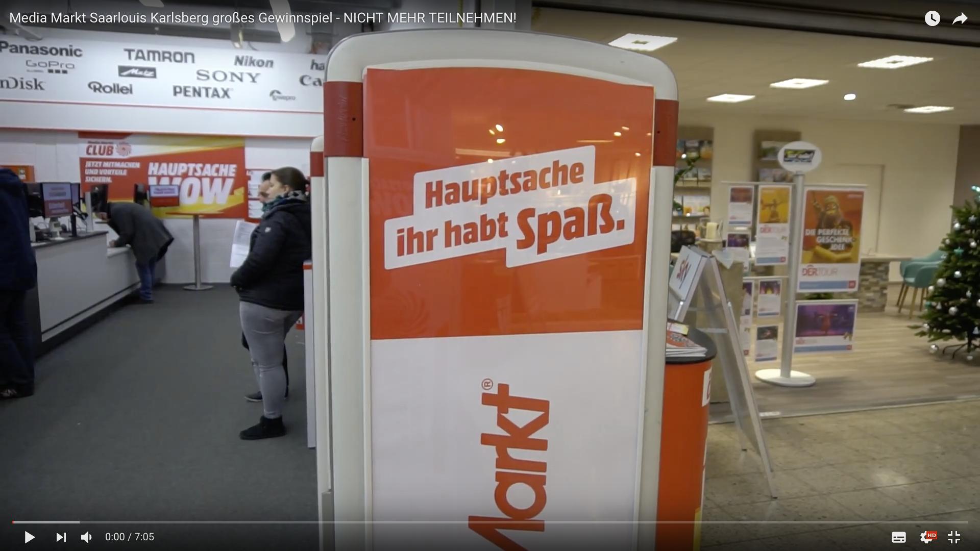 2017 Media Markt Saarlouis Karlsberg großes Gewinnspiel Media Markt _MSM_MEDIEN_SAAR_MOSEL_SAARLAND_FERNSEHEN_1_ED_SAAR