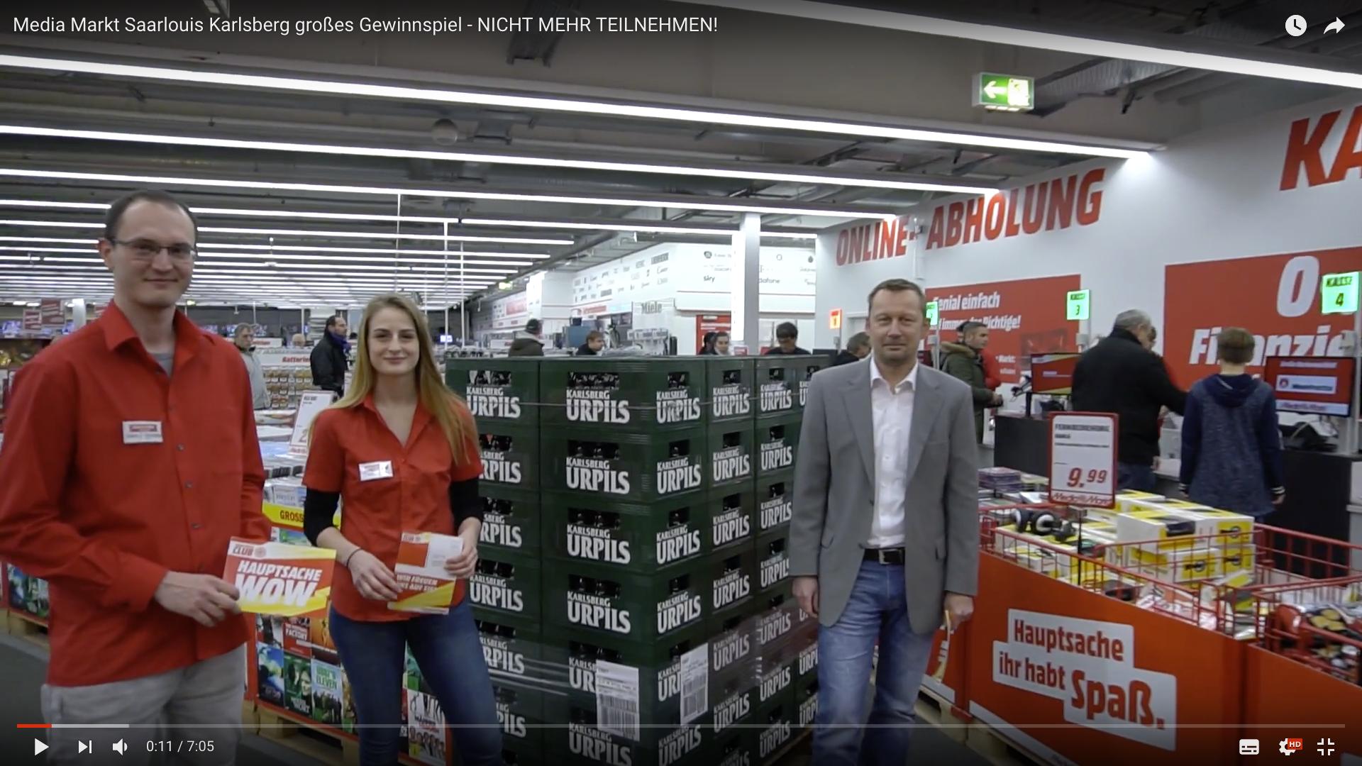 2017 Media Markt Saarlouis Karlsberg großes Gewinnspiel Team _MSM_MEDIEN_SAAR_MOSEL_SAARLAND_FERNSEHEN_1_ED_SAAR