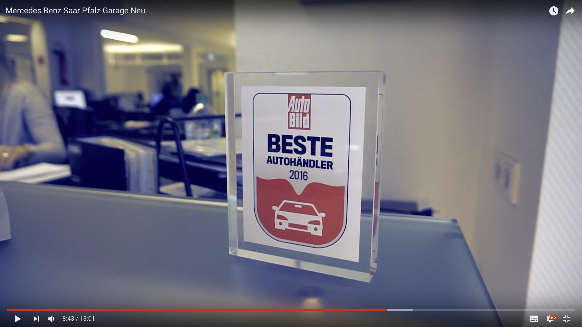 2017 Mercedes Benz Saar Pfalz Garage Neu Beste Autohändler 2016_MSM_MEDIEN_SAAR_MOSEL_SAARLAND_FERNSEHEN_1_ED_SAAR