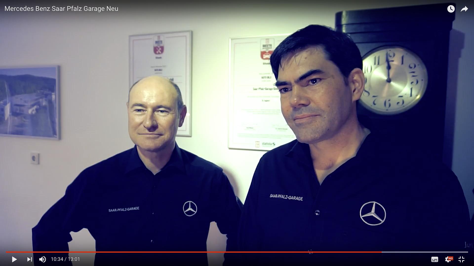 2017 Mercedes Benz Saar Pfalz Garage Neu Oliver Kurz und Lukas Haag_MSM_MEDIEN_SAAR_MOSEL_SAARLAND_FERNSEHEN_1_ED_SAAR