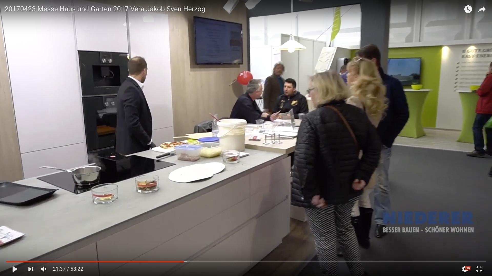 2017 Messe Haus und Garten 2017 Küchen_MSM_MEDIEN_SAAR_MOSEL_SAARLAND_FERNSEHEN_1_ED_SAAR