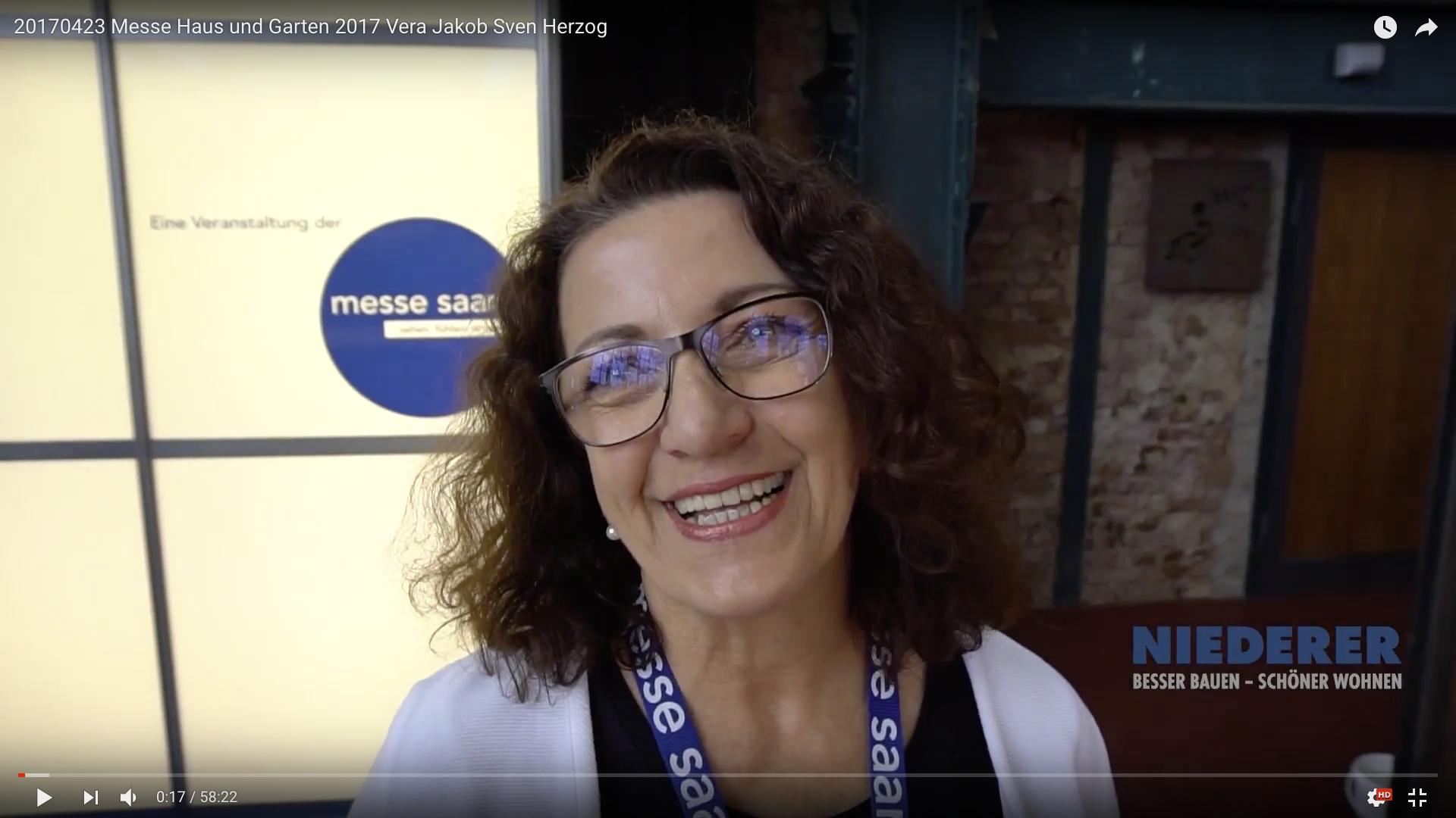 2017 Messe Haus und Garten 2017 Vera Jakob_MSM_MEDIEN_SAAR_MOSEL_SAARLAND_FERNSEHEN_1_ED_SAAR