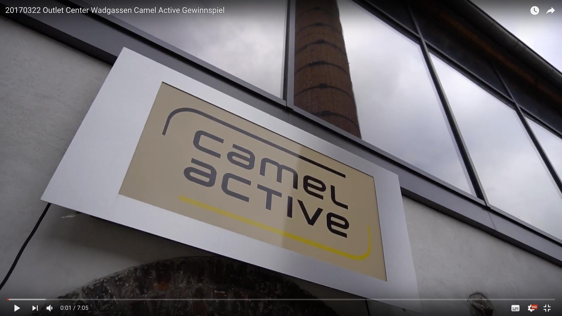2017 Outlet Center Wadgassen Camel Active Gewinnspiel Camel Active _MSM_MEDIEN_SAAR_MOSEL_SAARLAND_FERNSEHEN_1_ED_SAAR