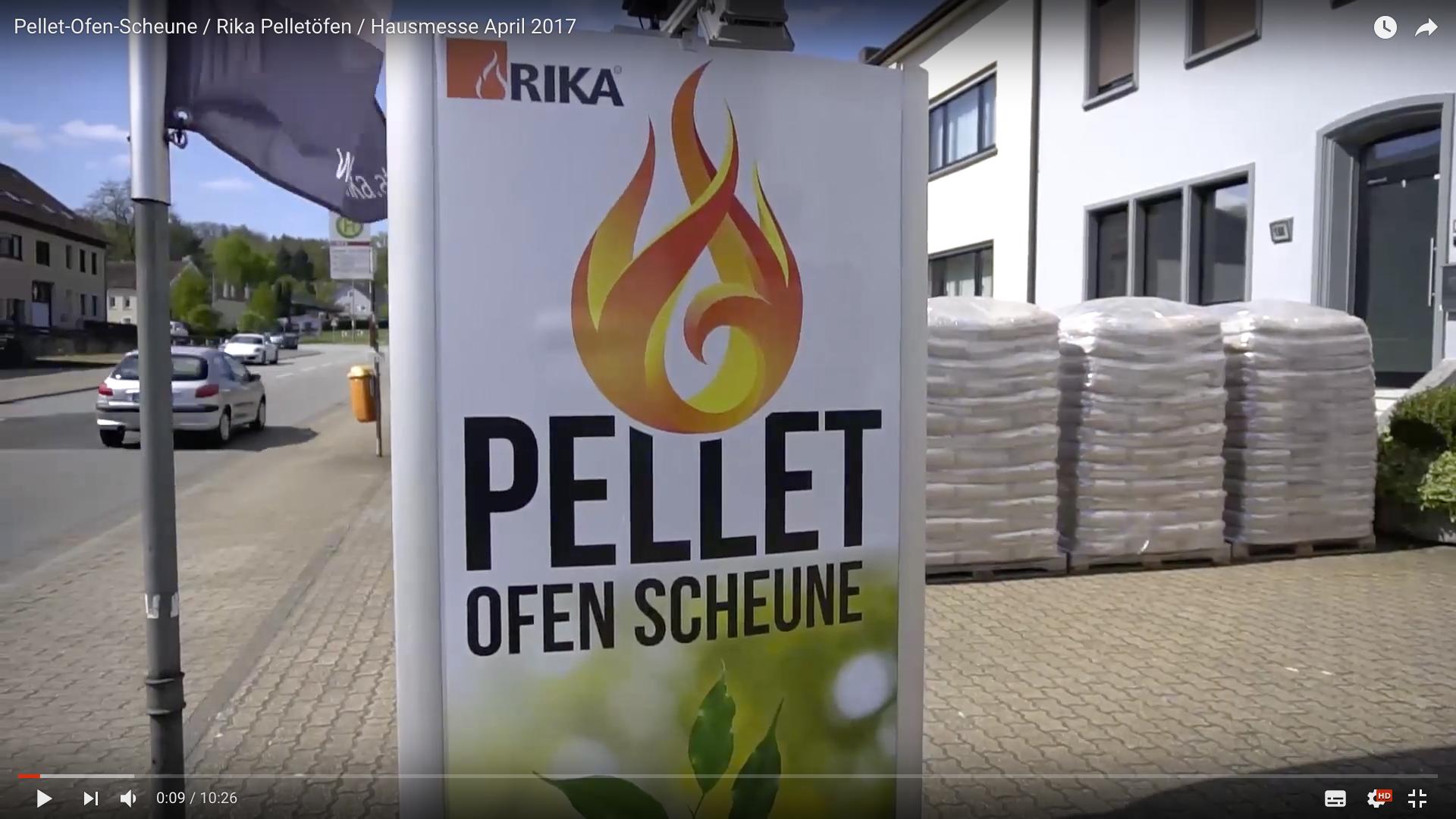 2017 Pellet-Ofen-Scheune : Rika Pelletöfen : Hausmesse Pellet-Ofen-Scheune_MSM_MEDIEN_SAAR_MOSEL_SAARLAND_FERNSEHEN_1_ED_SAAR