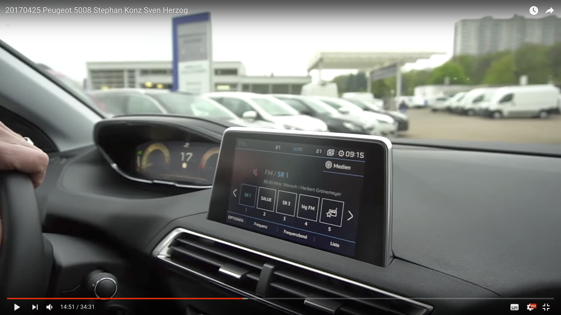 2017 Peugeot 5008 Display_MSM_MEDIEN_SAAR_MOSEL_SAARLAND_FERNSEHEN_1_ED_SAAR