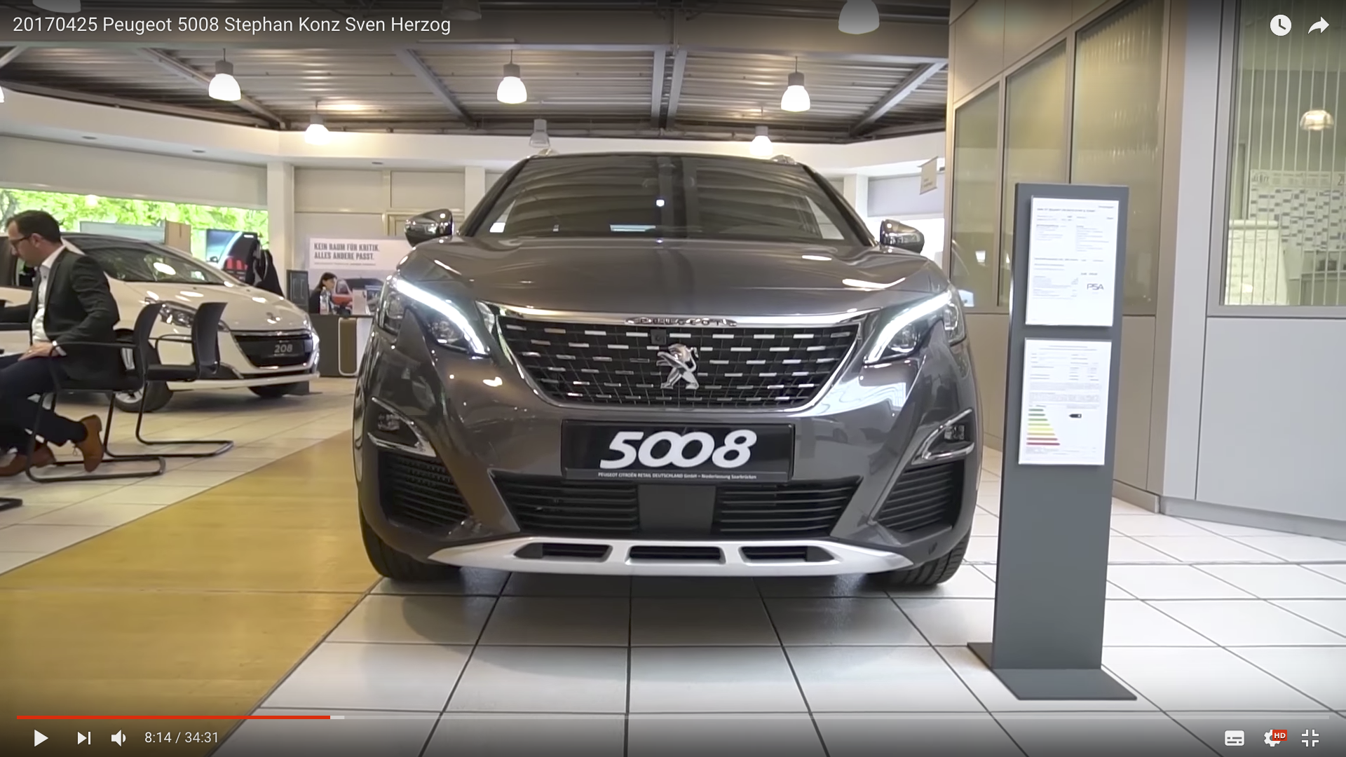 2017 Peugeot 5008 Peugeot 5008 _MSM_MEDIEN_SAAR_MOSEL_SAARLAND_FERNSEHEN_1_ED_SAAR