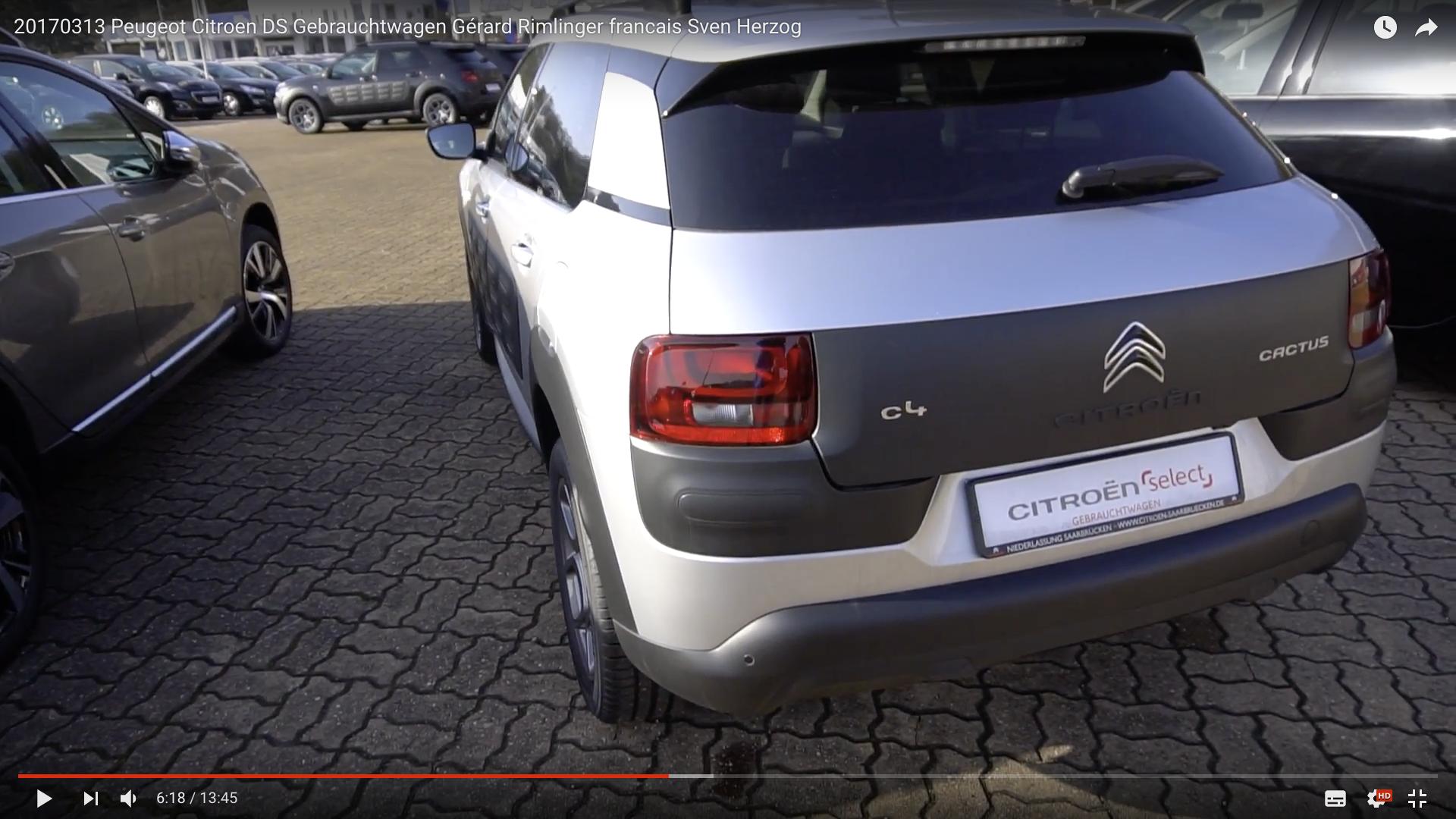 2017 Peugeot Citroen DS Gebrauchtwagen Citroen _MSM_MEDIEN_SAAR_MOSEL_SAARLAND_FERNSEHEN_1_ED_SAAR