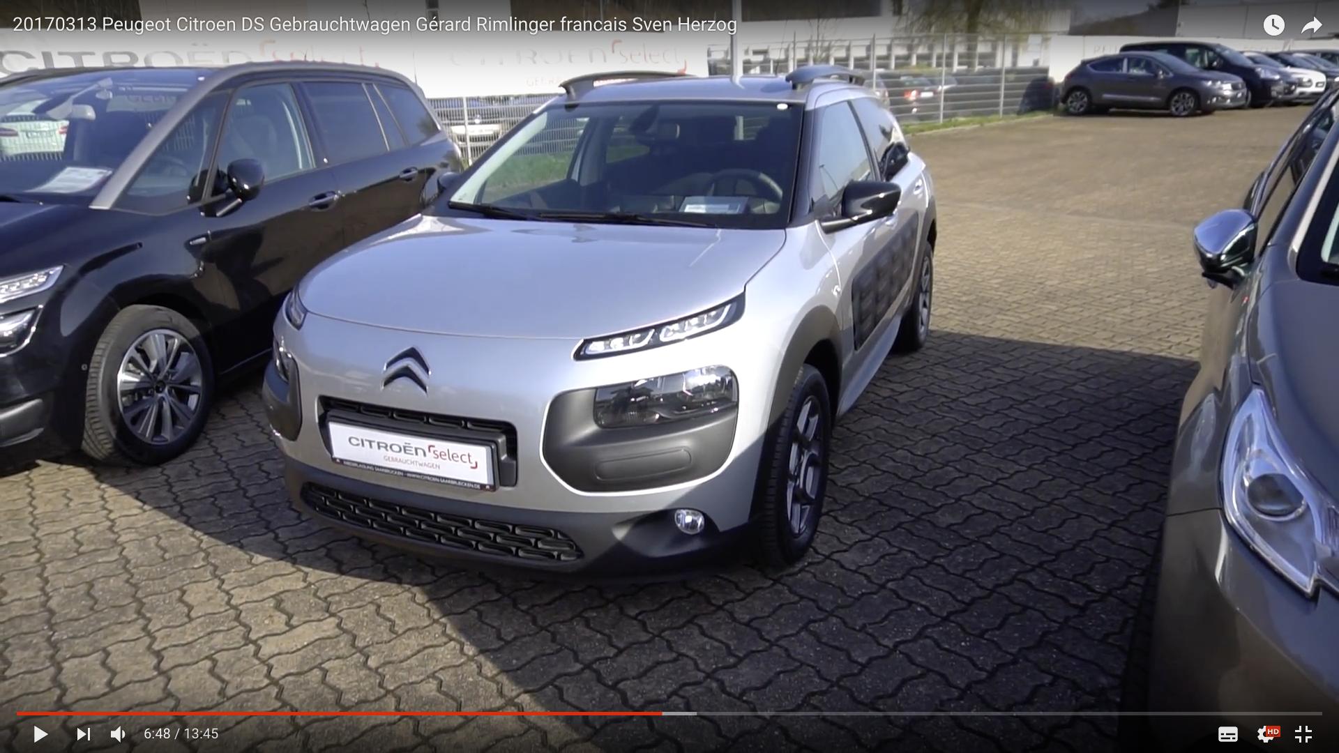 2017 Peugeot Citroen DS Gebrauchtwagen Kaktus _MSM_MEDIEN_SAAR_MOSEL_SAARLAND_FERNSEHEN_1_ED_SAAR