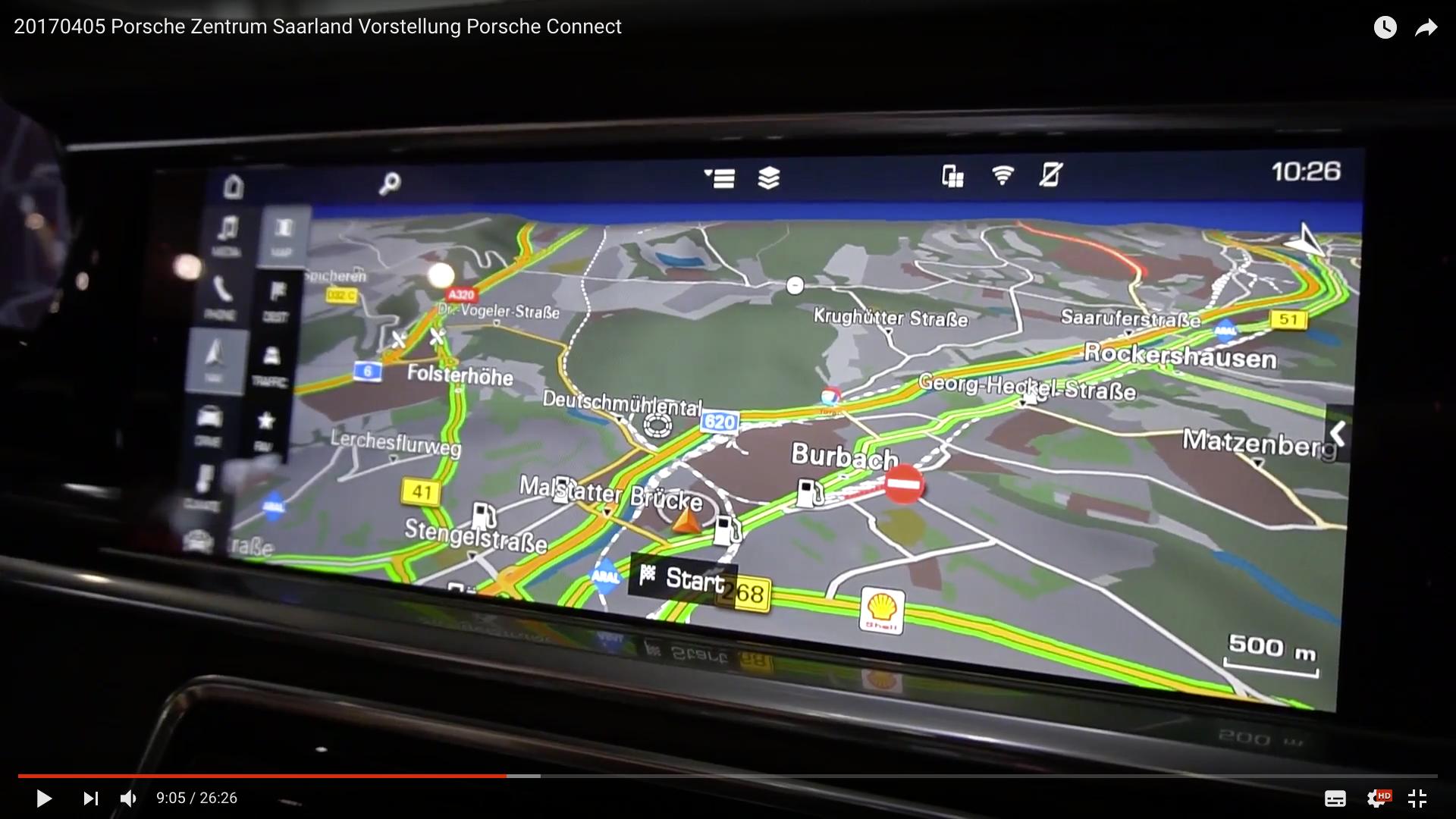 2017 Porsche Zentrum Saarland Vorstellung Porsche Connect Interface_MSM_MEDIEN_SAAR_MOSEL_SAARLAND_FERNSEHEN_1_ED_SAAR