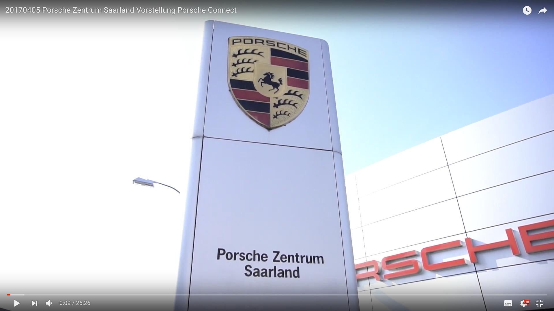 2017 Porsche Zentrum Saarland Vorstellung Porsche Connect Porsche Zentrum Saarland_MSM_MEDIEN_SAAR_MOSEL_SAARLAND_FERNSEHEN_1_ED_SAAR