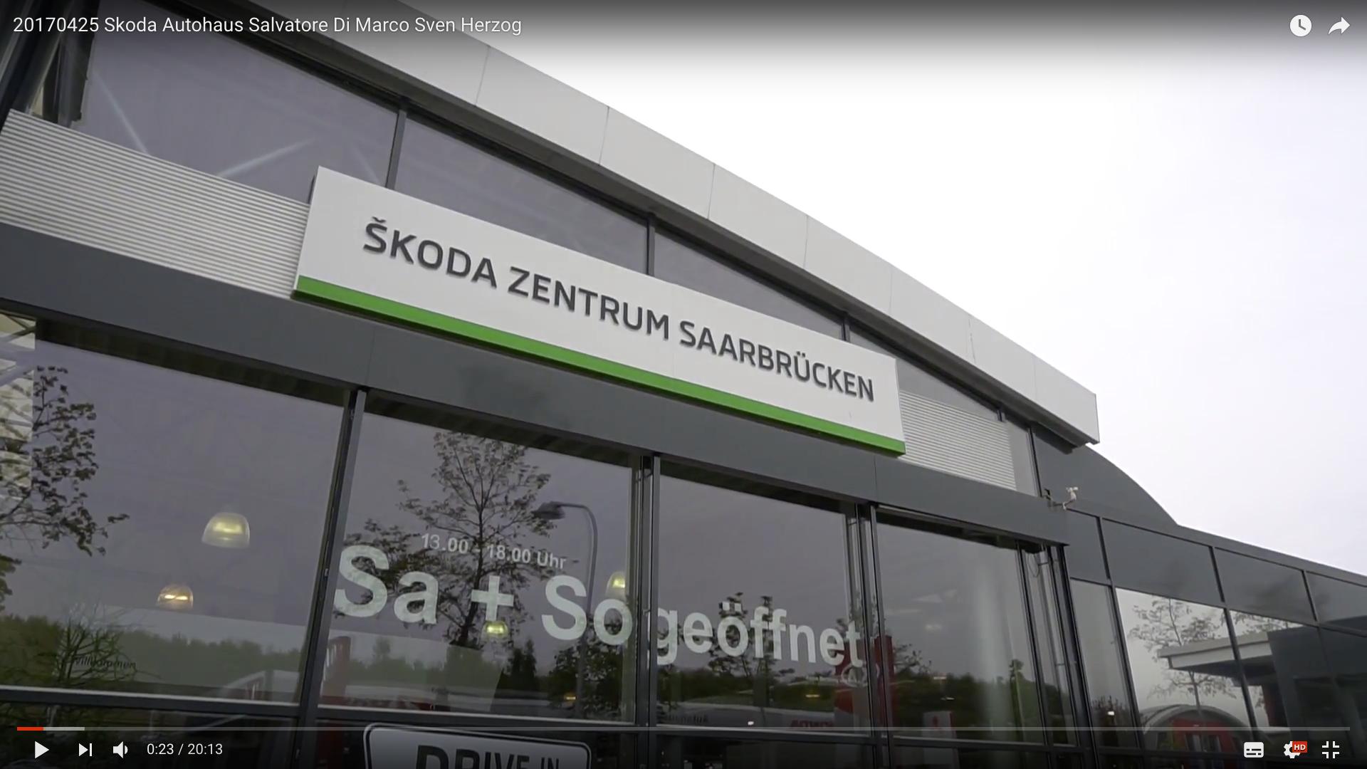 2017 Rittersbacher Skoda Zentrum Saarbrücken Skoda Zentrum Saarbrücken_MSM_MEDIEN_SAAR_MOSEL_SAARLAND_FERNSEHEN_1_ED_SAAR