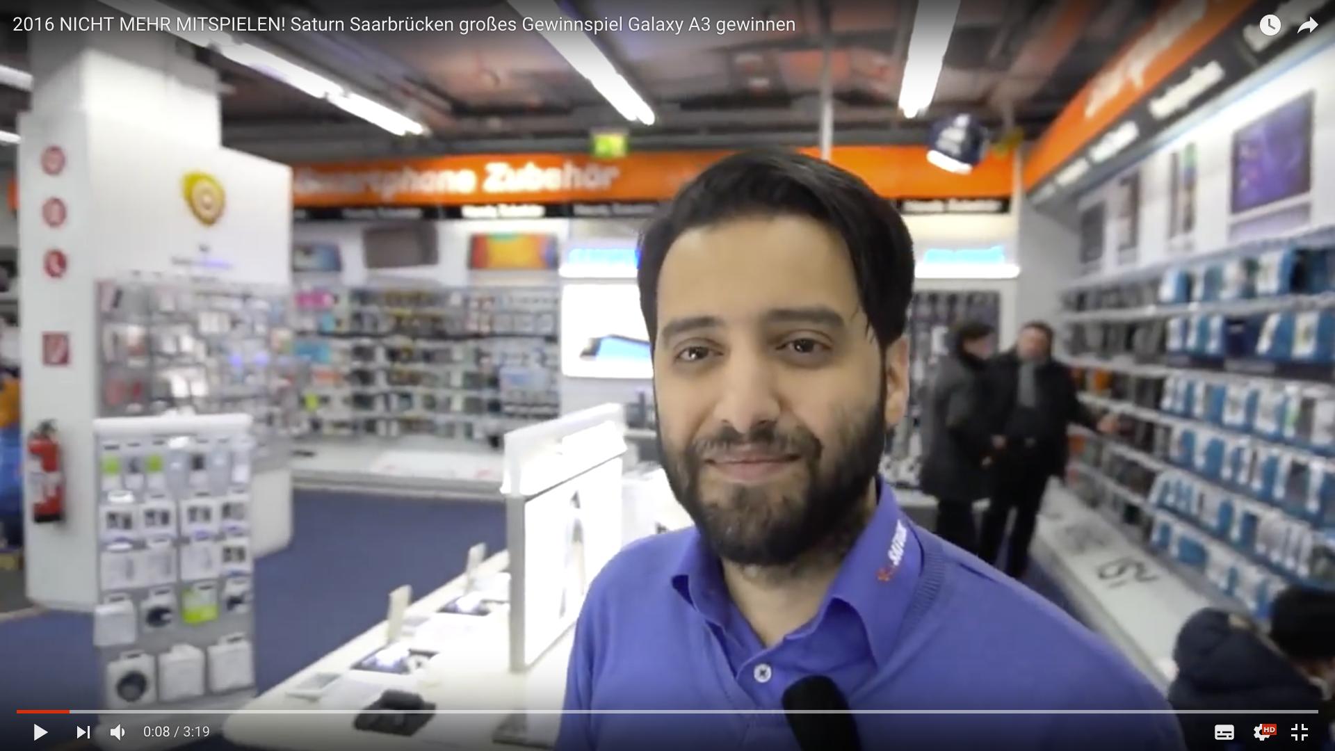 2017 Saturn Saarbrücken großes Gewinnspiel Galaxy A3 Mitarbeiter_MSM_MEDIEN_SAAR_MOSEL_SAARLAND_FERNSEHEN_1_ED_SAAR