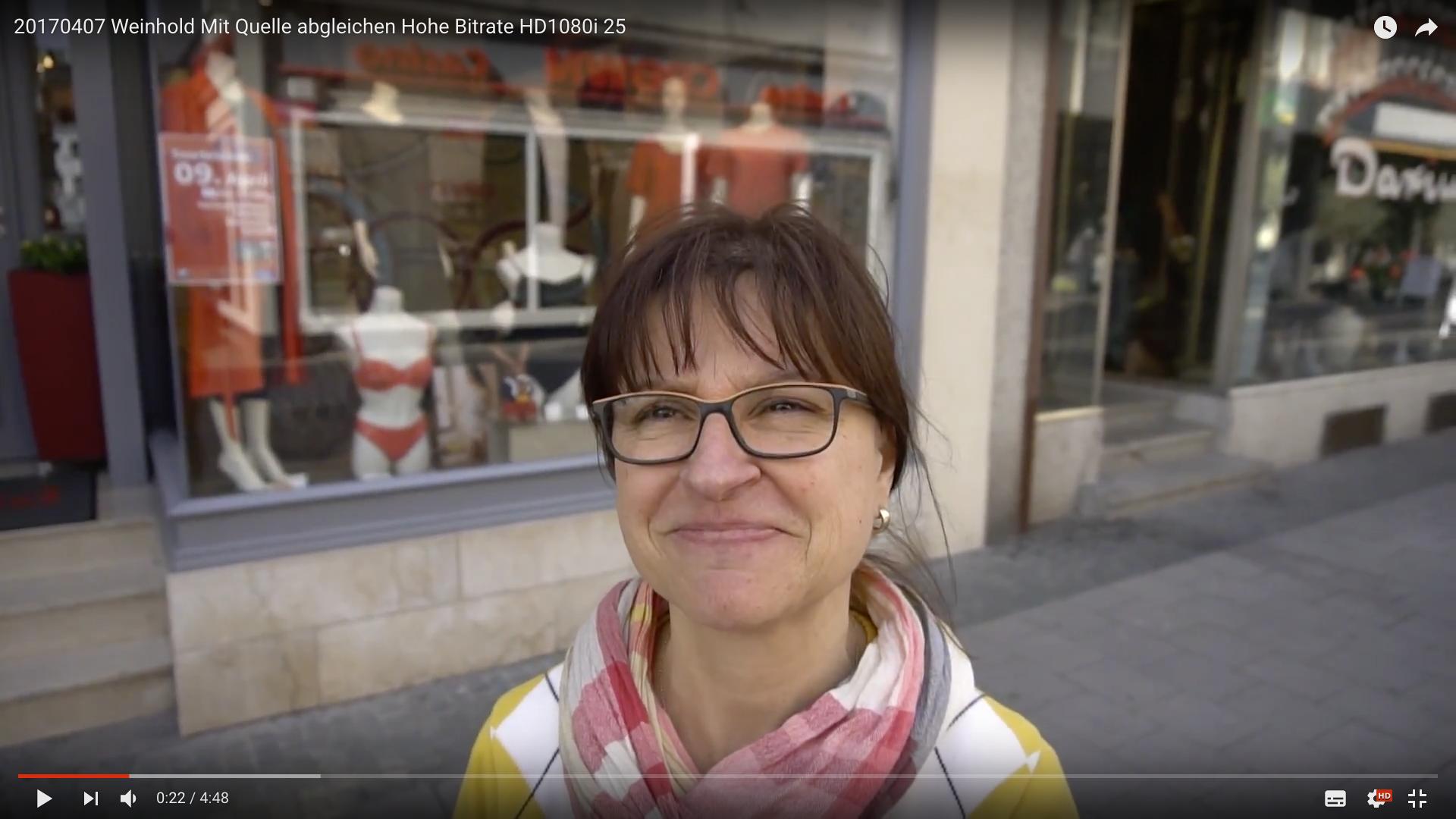 2017 Wäschehaus Weinhold Gewinnspiel Helga Köhler_MSM_MEDIEN_SAAR_MOSEL_SAARLAND_FERNSEHEN_1_ED_SAAR