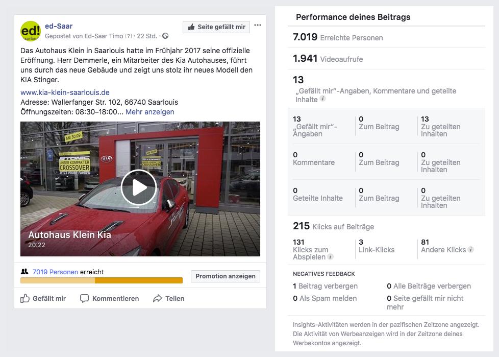 Autohaus Klein KIA Performance_MSM_MEDIEN_SAAR_MOSEL_SAARLAND_FERNSEHEN_1_ED_SAAR