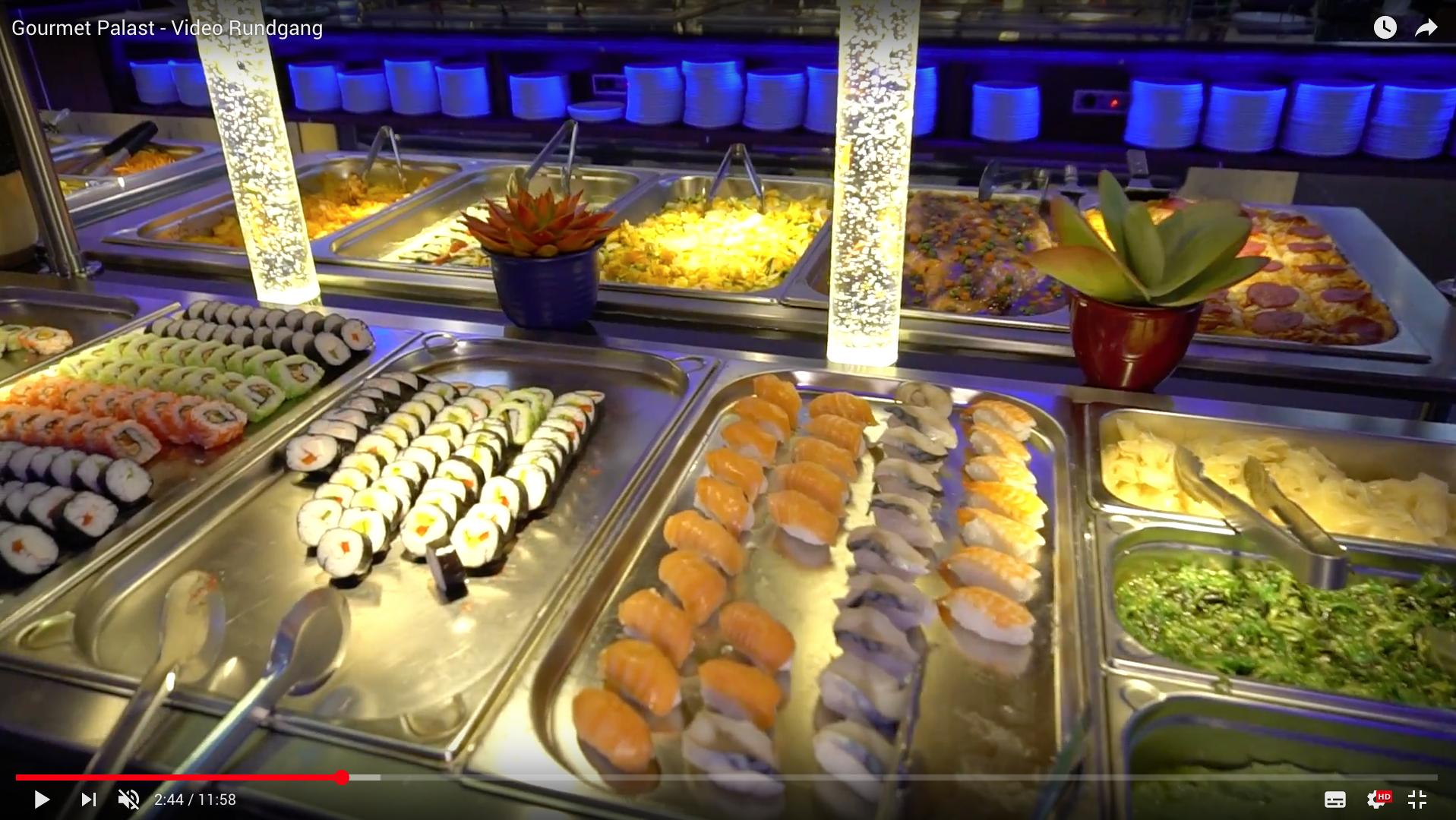2017 Gourmet Palast - Video Rundgang Buffet _MSM_MEDIEN_SAAR_MOSEL_SAARLAND_FERNSEHEN_1_ED_SAAR