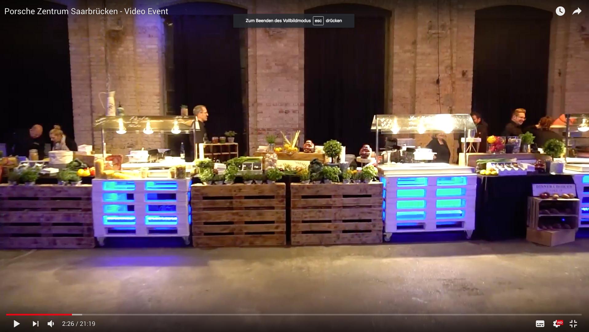 2017 Prosche Zentrum Saarbrücken - Video Event Buffet_MSM_MEDIEN_SAAR_MOSEL_SAARLAND_FERNSEHEN_1_ED_SAAR