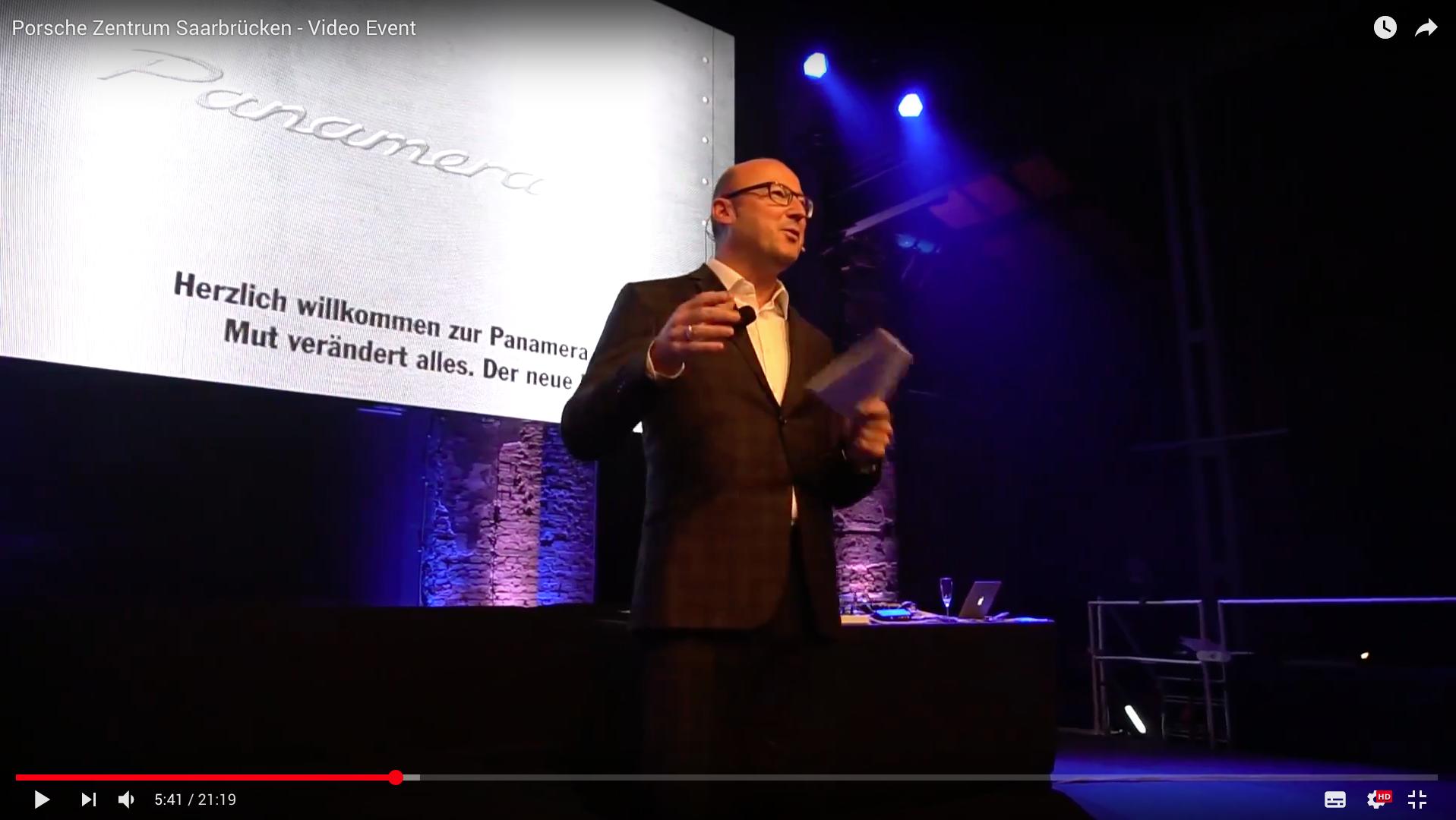 2017 Prosche Zentrum Saarbrücken - Video Event Vorstellung_MSM_MEDIEN_SAAR_MOSEL_SAARLAND_FERNSEHEN_1_ED_SAAR